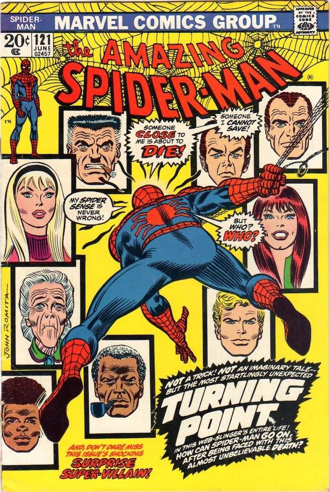 Amazing Spider-Man 121 cover