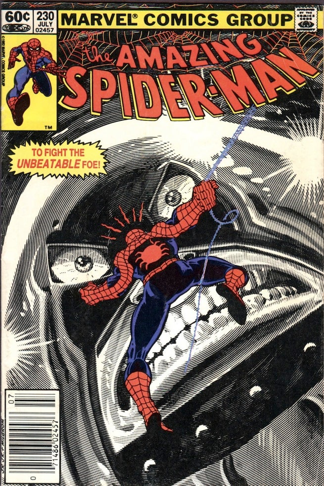 Amazing Spider-Man 230 cover