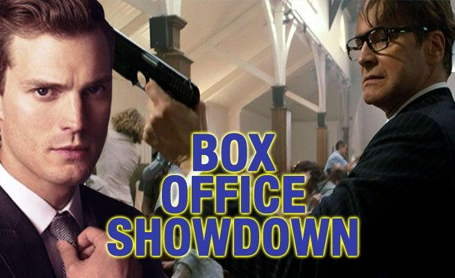 Weekend Box Office Showdown: 'Fifty Shades' vs. 'Kingsman' Prediction