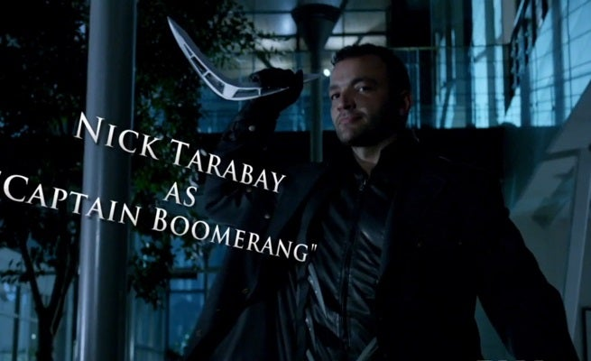 Arrow Vs. Captain Boomerang Featured In New Clip