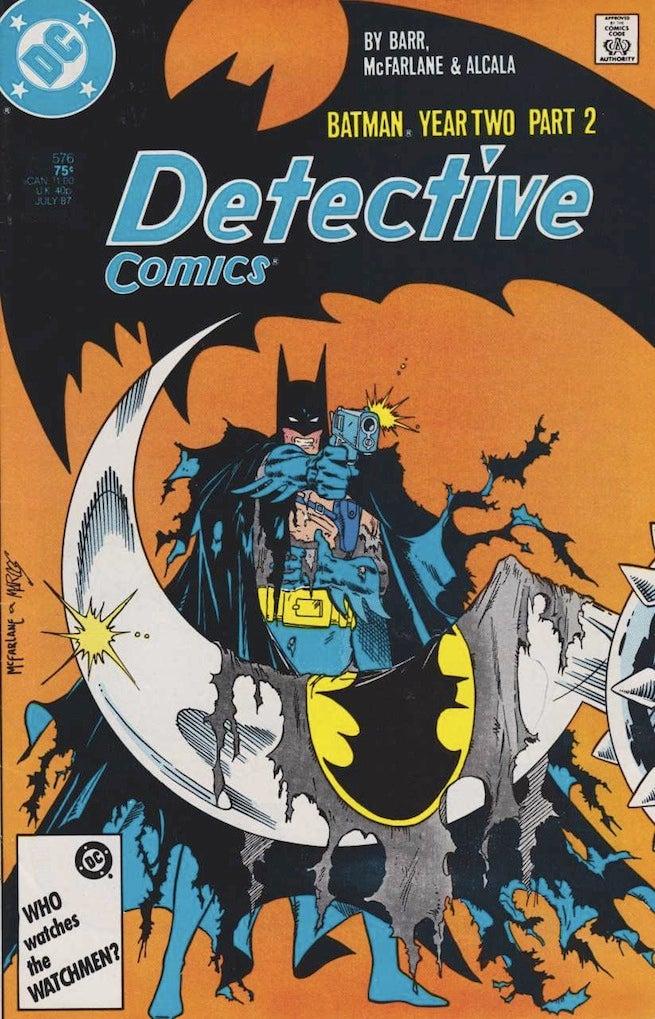 Detective Comics 576 cover