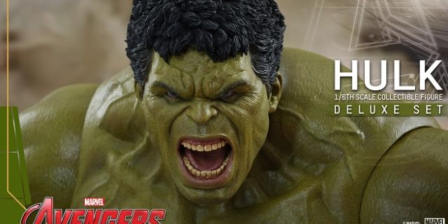 Hot Toys - Avengers - Age of Ultron - Hulk Deluxe Collectible Set_PR12