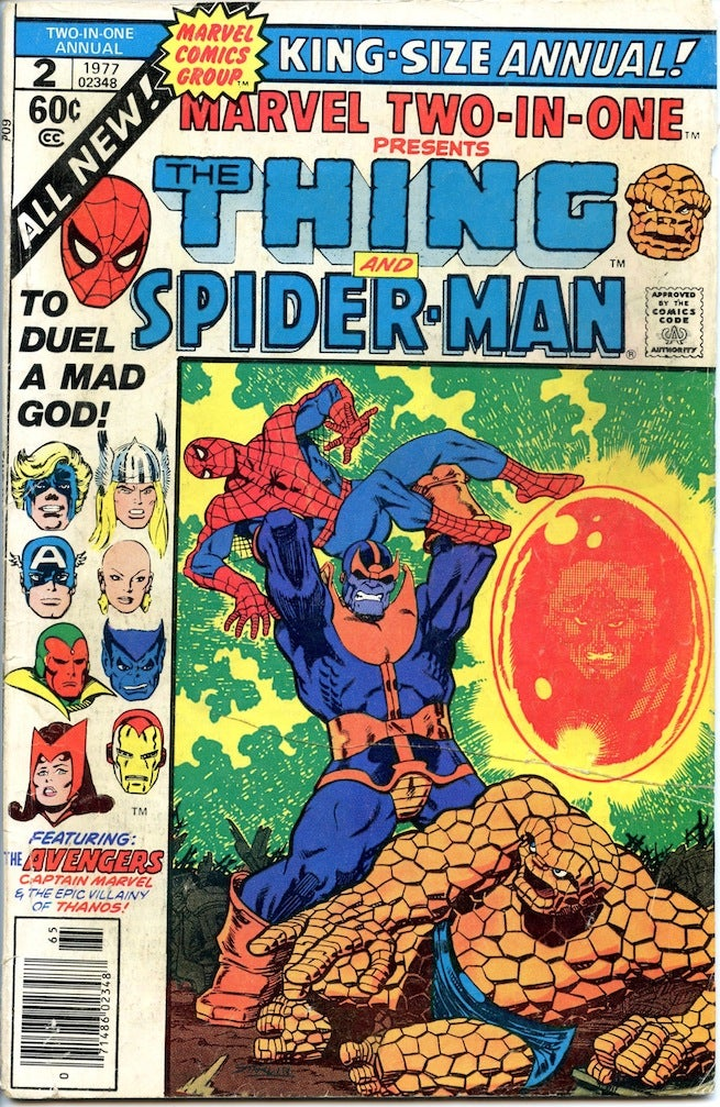 Marvel Two in One Annual 2 cover