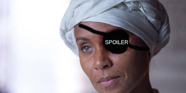 First look at fish mooney 39 s new eye on gotham for Who is fish mooney