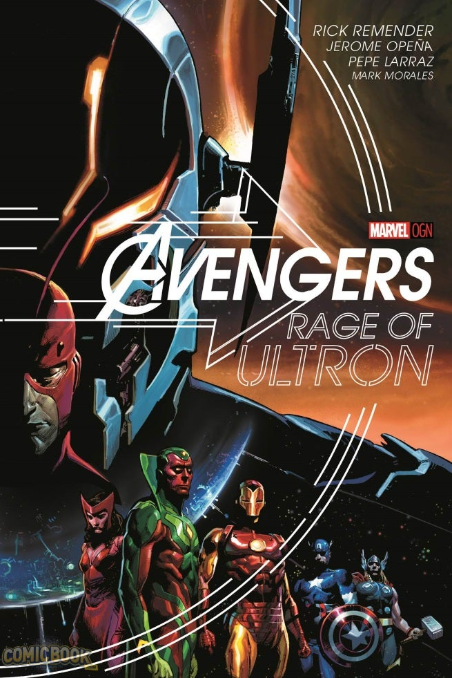 Rage of Ultron Cover