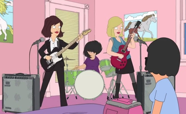 "Bob's Burgers Featured In Sleater-Kinney's ""A New Wave"" Video"
