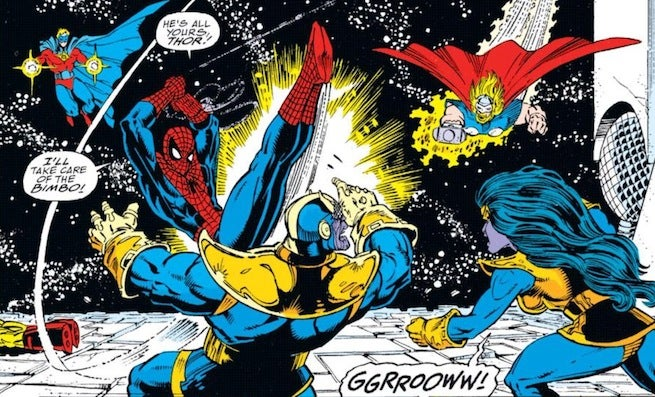Spider-Man vs. Thanos: 5 Notable Times It Happened