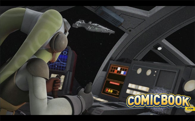 Hera and the Ghost in Star Wars Rebels: