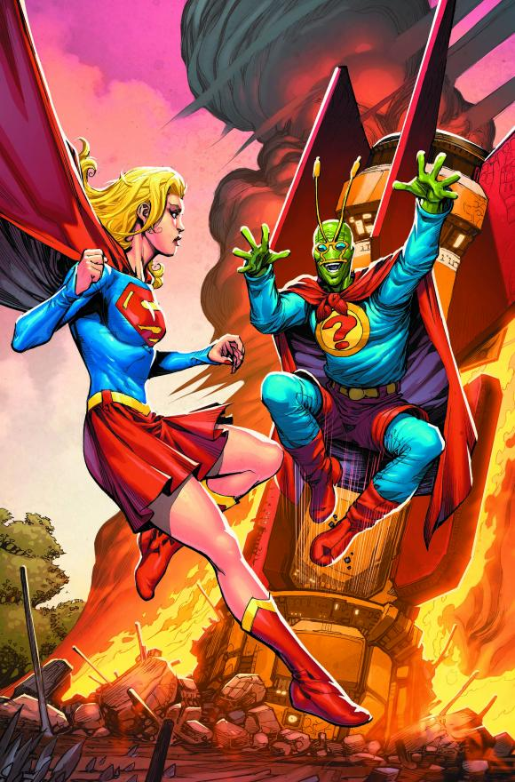 Covering Convergence: Keith Giffen and Timothy Green II Discuss Supergirl: Matrix