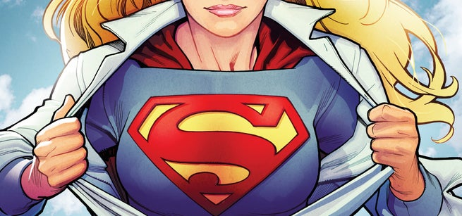 ... on Supergirl, Superman and the first villain known as the Lumberjack