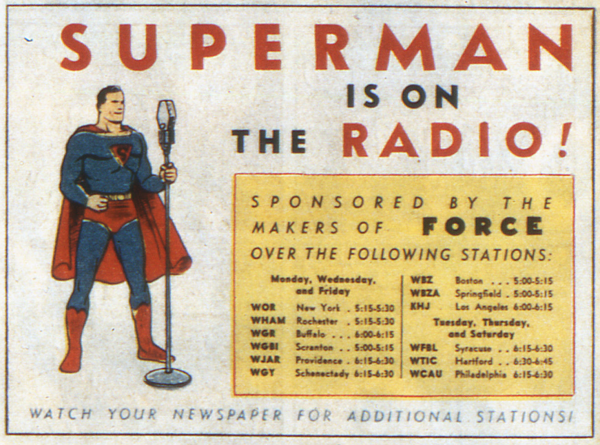Image result for ADVENTURES OF SUPERMAN (RADIO) [1940 - 1951]