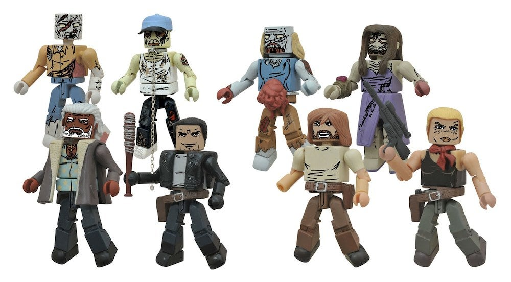 Zombie Toys R Us : New the walking dead minimates headed to toys r us