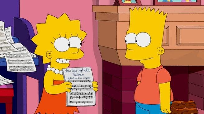 The Simpsons - Walking Big & Tall