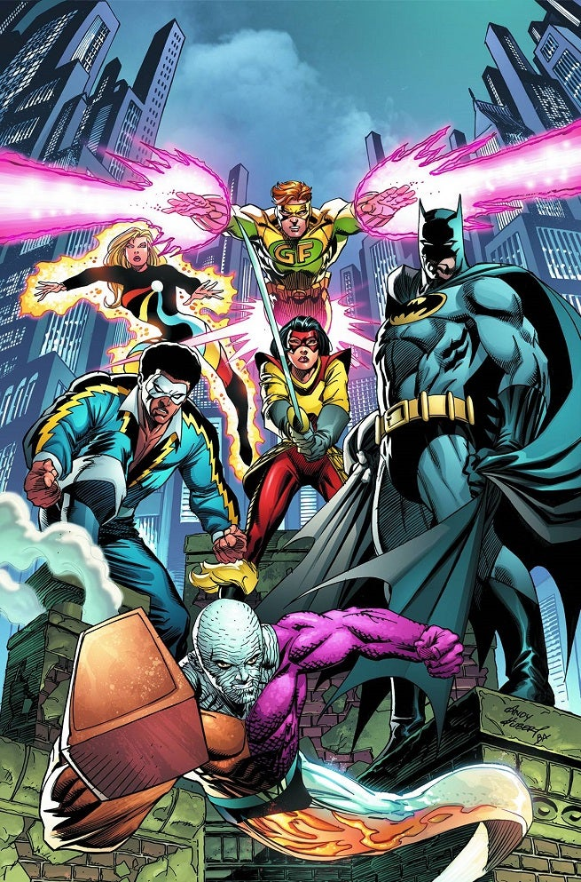 Covering Convergence: Marc Andreyko Talks Batman & The Outsiders