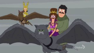 bob's burgers game of thrones