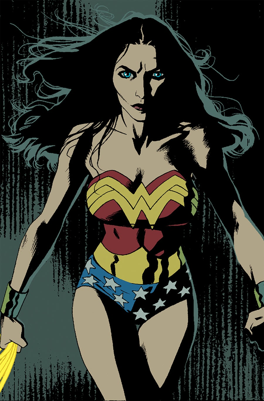 covering convergence larry hama pits wonder woman against the red