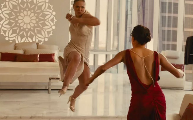 Furious 7 Featurette On Letty's Fight