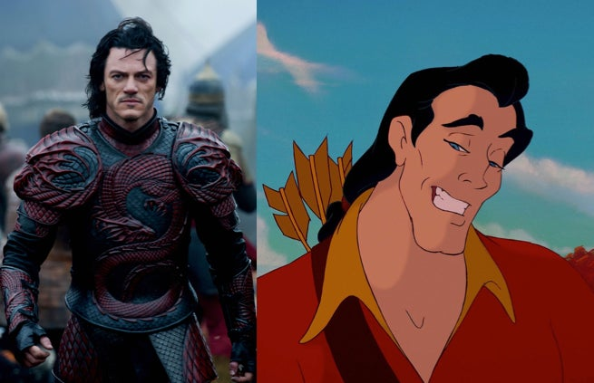 Actor luke evans is reportedly set to play gaston in disney s live