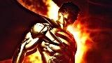 Golden Superman Costume top