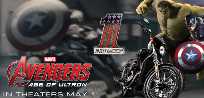 Harley-Davidson Takes a Ride with the Avengers