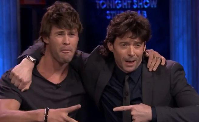 Chris Hemsworth & Hugh Jackman
