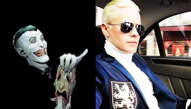 Jared Leto Fully Reveals Joker Haircut
