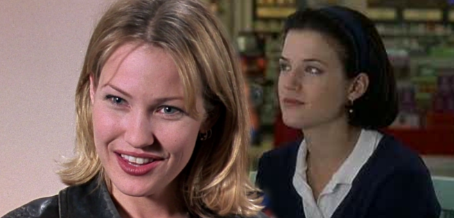 Joey Lauren Adams and kevin smith