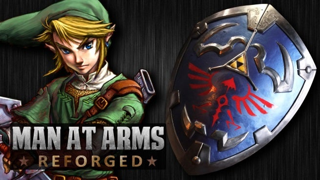 Link's Hylian Shield From Legend Of Zelda Built By Man At Arms: Reforged