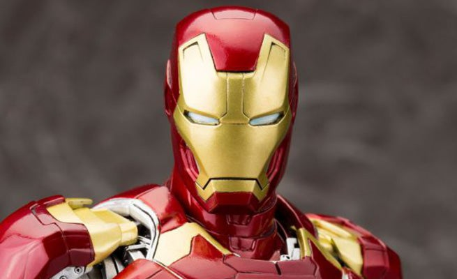 Iron Man Mark XLIII Statue Announced From Kotobukiya
