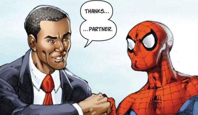 Barack obama i grew up loving comic books sciox Image collections