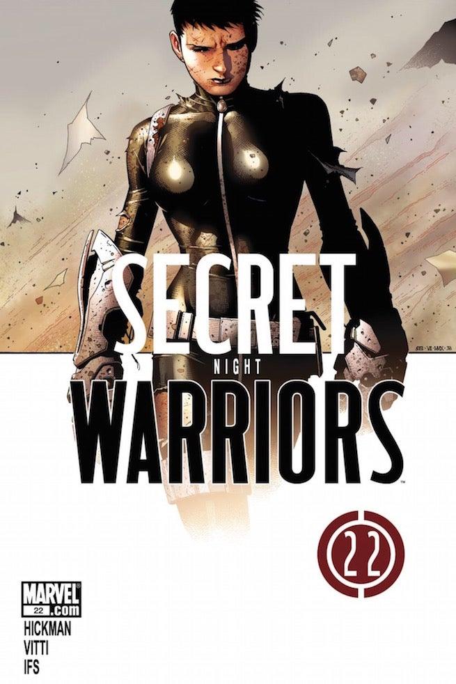 Secret Warriors 22 cover