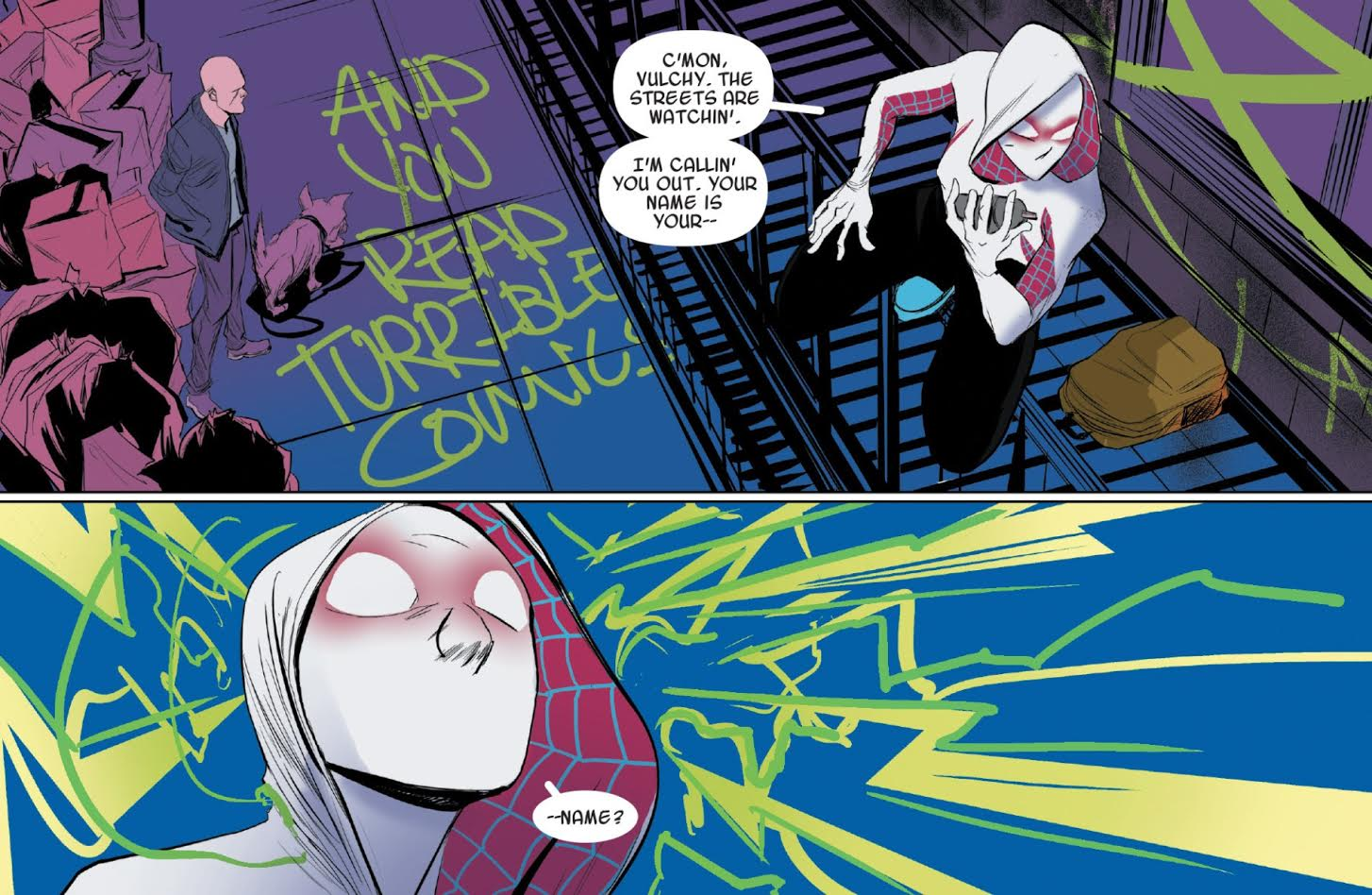 Spider-Women - Spider-Gwen 2