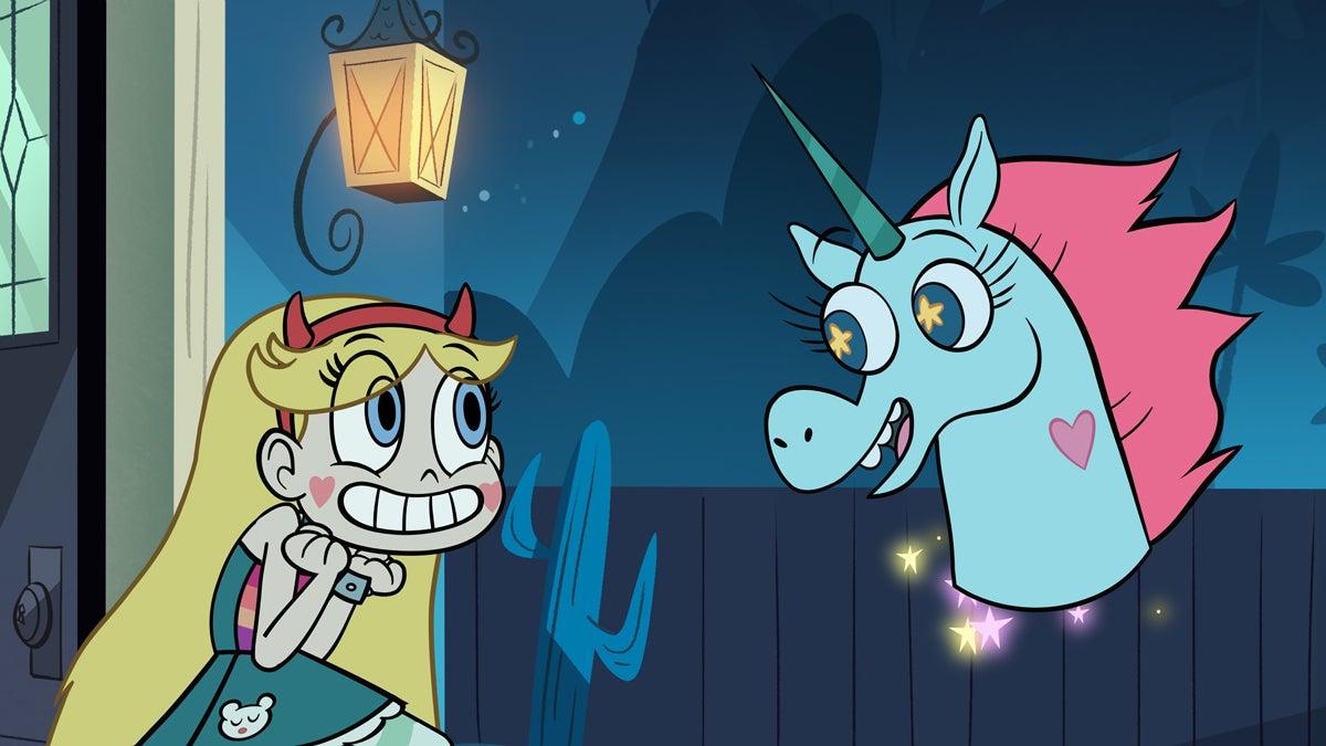 Star and Princess Pony Head, courtesy Disney XD