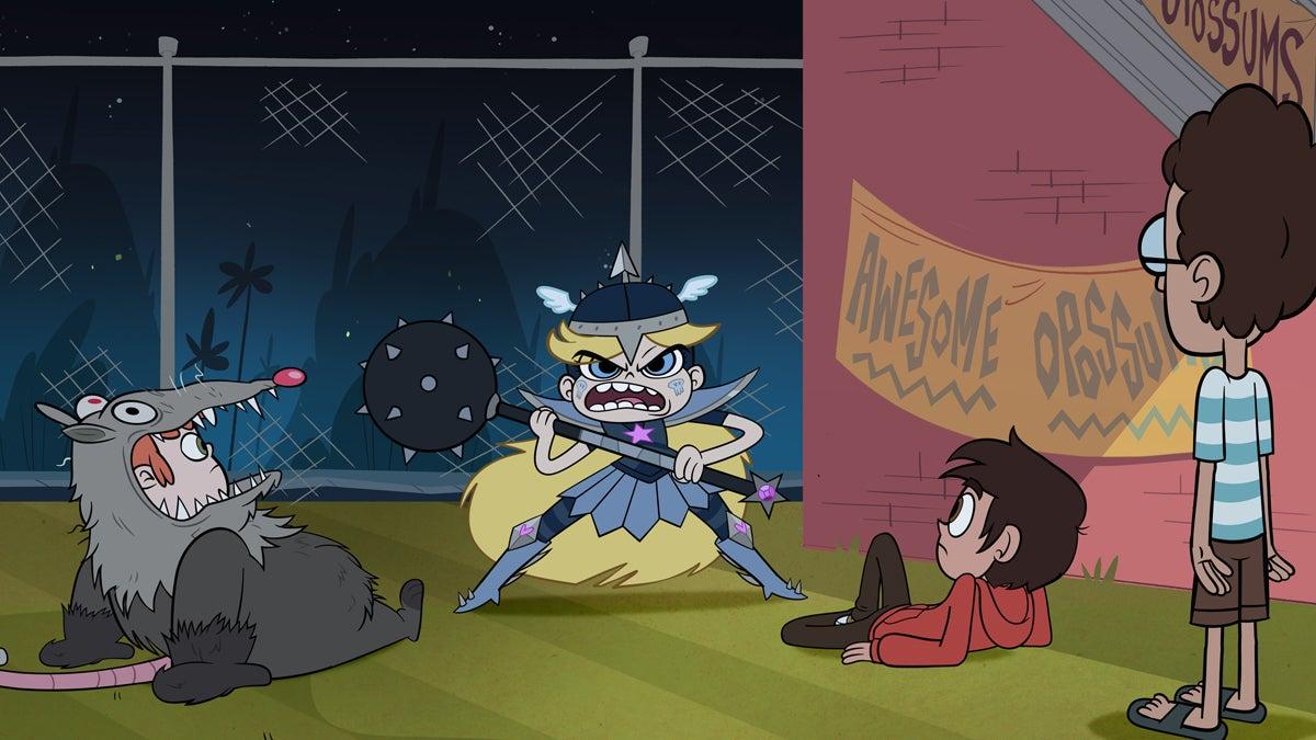 Star doesn't understand school spirit, courtesy Disney XD