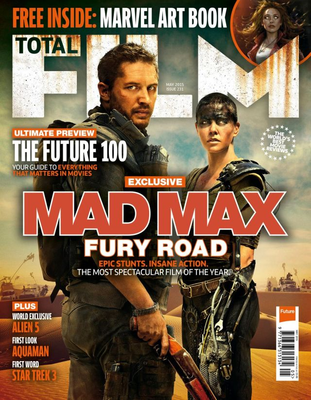 New Mad Max Image Covers Total Film Magazine