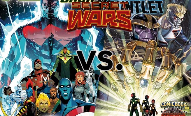 Multiversal March Madness Marvel S The Infinity Gauntlet Vs The Korvac Saga