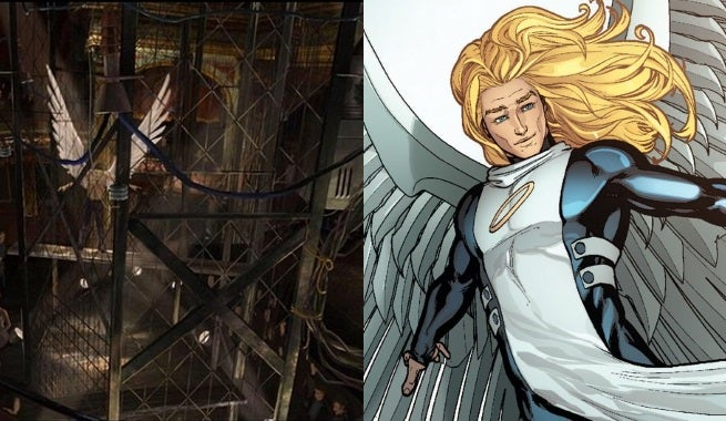 x-men apocalypse angel concept art