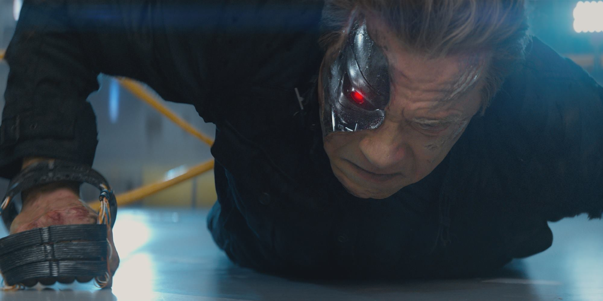 New Look At Arnold Schwarzenegger In Terminator Genisys