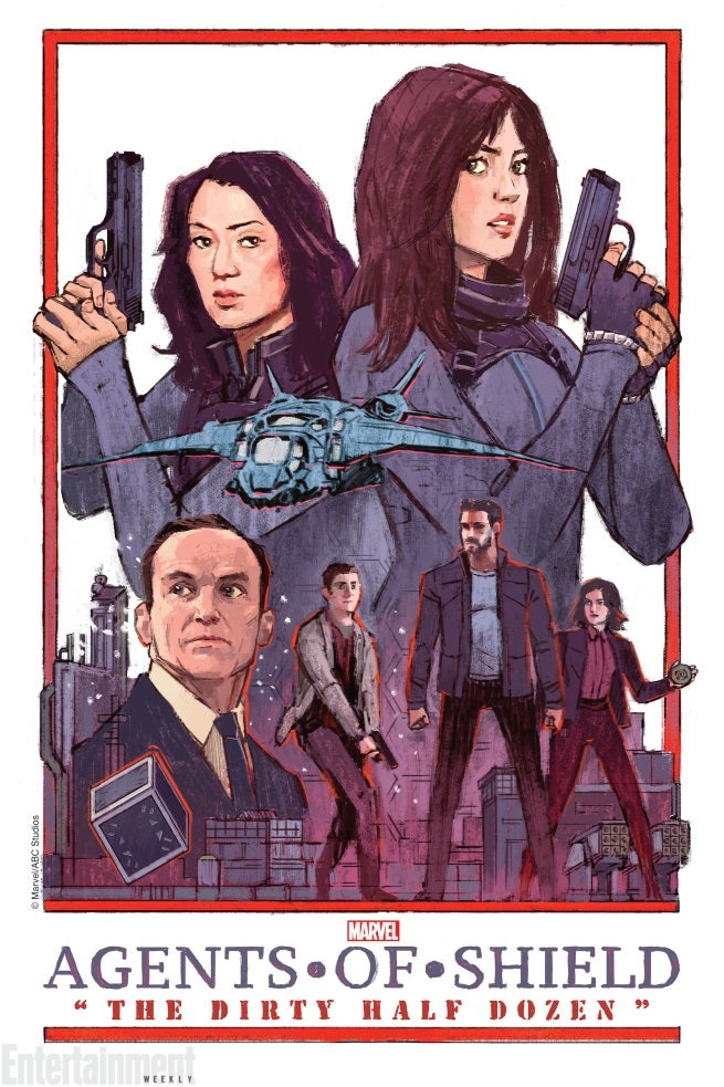 """AGENTS OF SHIELD Season 2, Episode 19 Poster Released- """"The"""