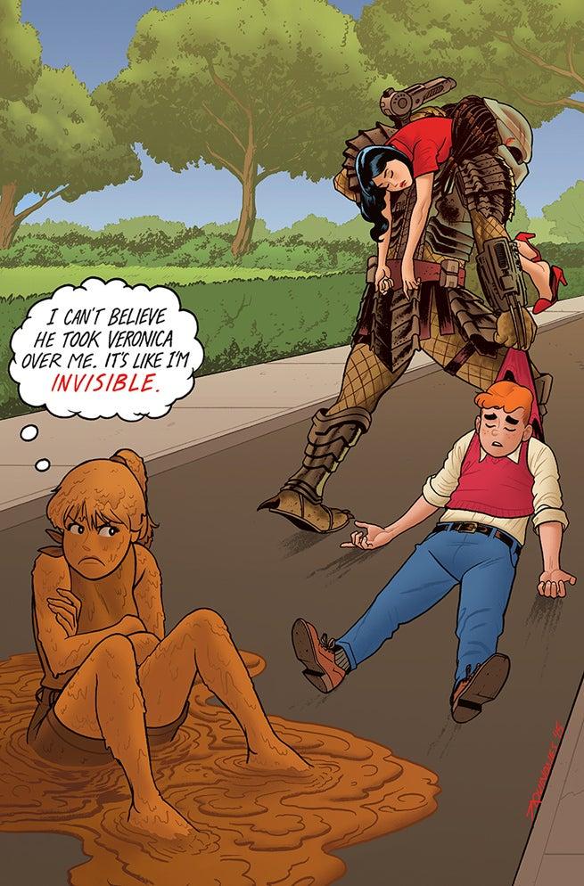 Archie vs Predator 4 Variant 2