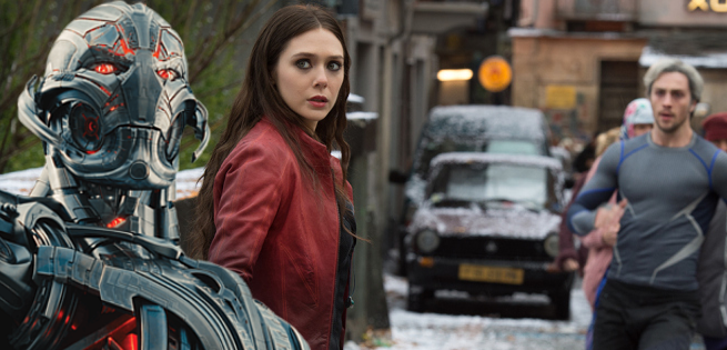 Scarlet Witch & Quicksilver Meet Ultron In New Avengers 2 Clip