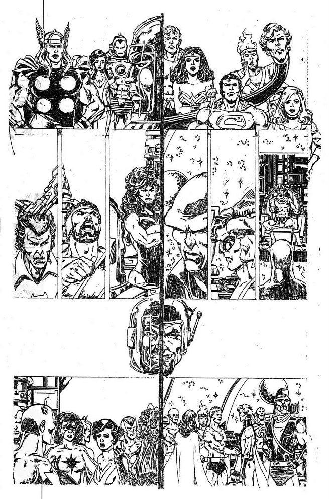 Old JLA Avengers