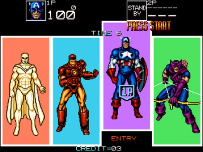 X-men Arcade Game That