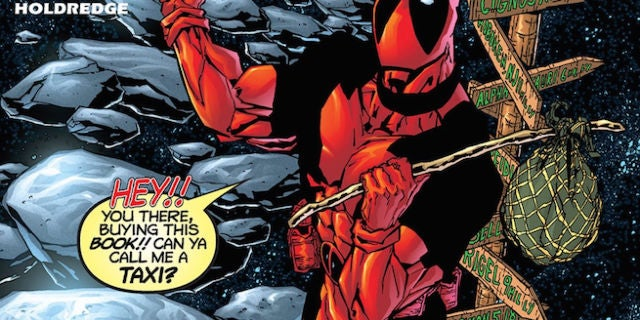 Deadpool 43 cover