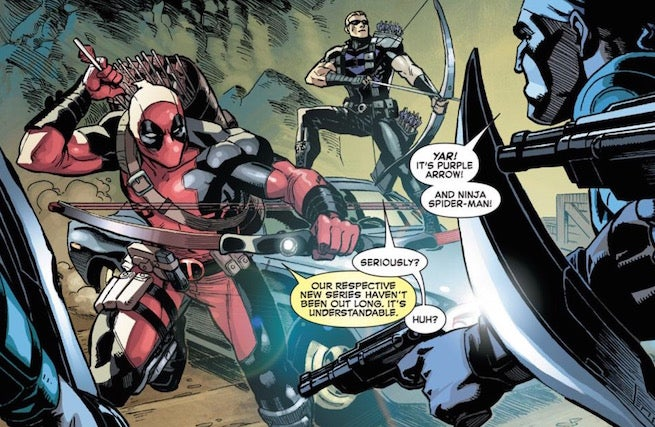 Deadpool Hawkeye