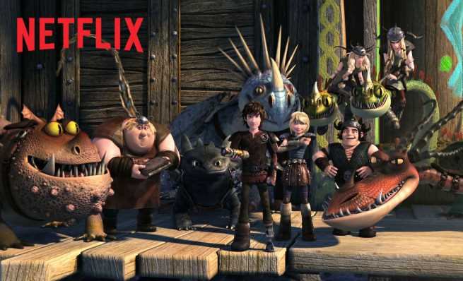 How to train your dragon tv series coming to netflix in june ccuart Gallery
