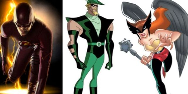 flash-green-arrow-hawkgirl