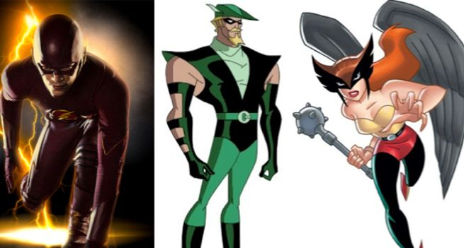 flash-green-arrow-hawkgirl