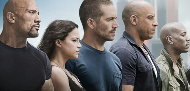Furious 7 Is Named The Most Mistake-Filled Movie Of 2015