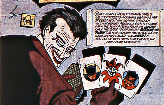 Joker first appearance